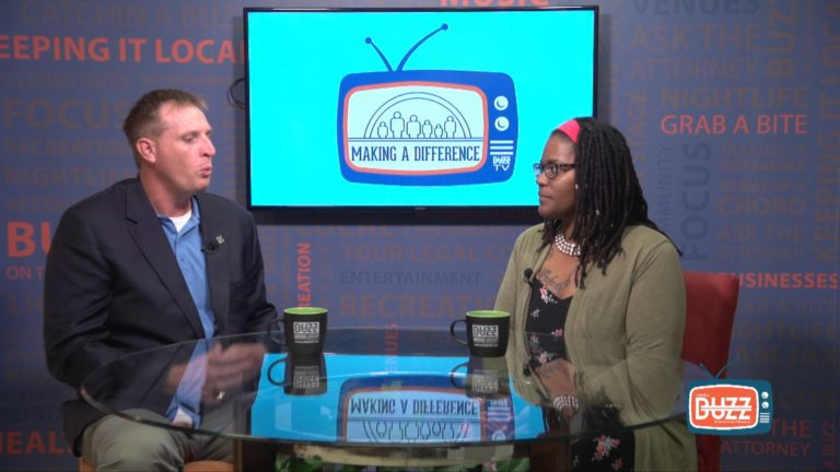 "BUZZ TV –  ""Making a Difference"" with Toccara Burgess from Let's Go Vegan, LLC"